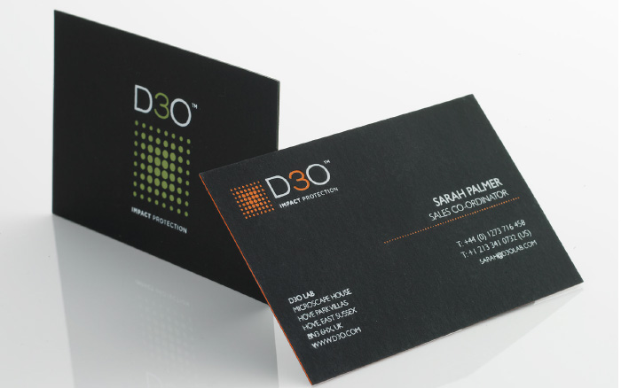 D30 Business cards