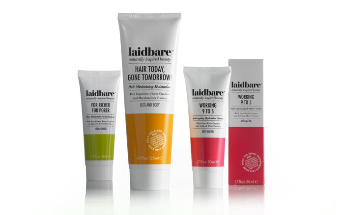 Laidbare packaging