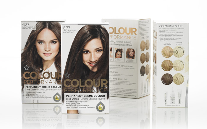 Superdrug - colour performance hair colourants