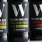 The Waen brewery beer bottles